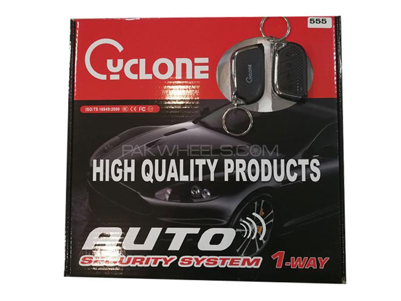 Cyclone Auto Security Alarm System Black & Silver - Code 555 in Karachi