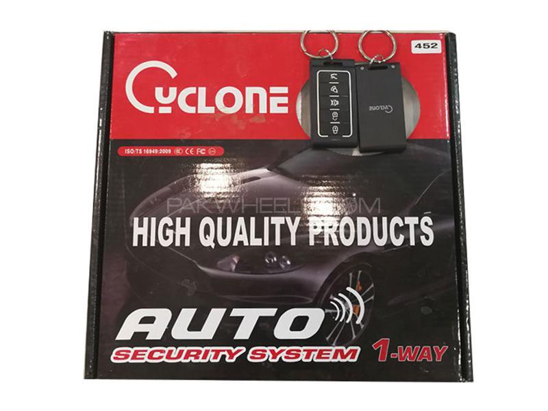 Cyclone Auto Security Alarm System - Code 452 Image-1