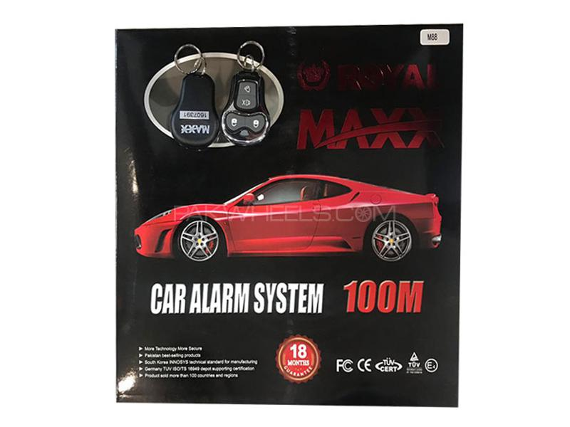 Royal Maxx Auto Security Alarm System - Code M88 in Karachi