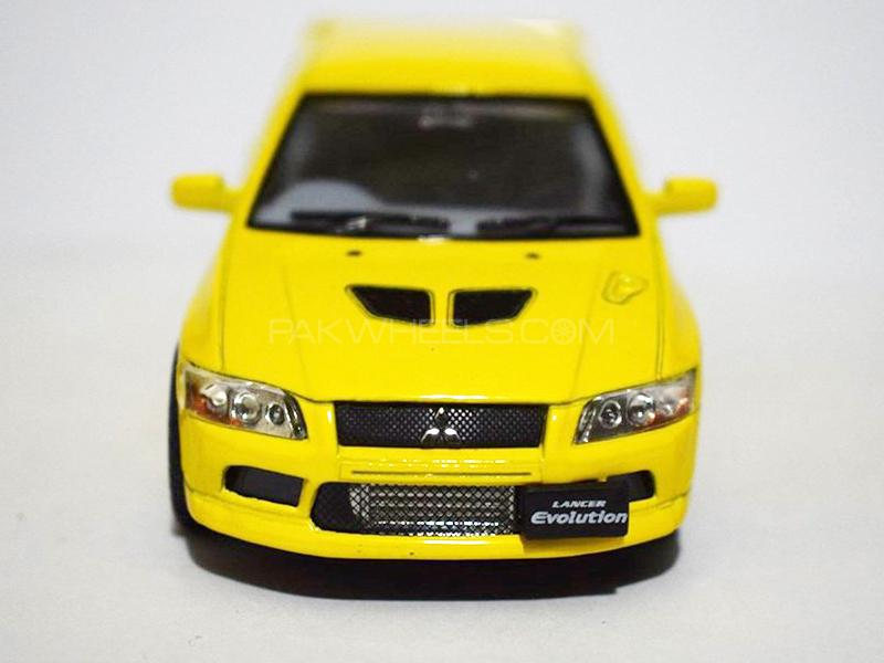 KinSmart Metal Body Die Cast Lancer EVO VII - Yellow in Lahore