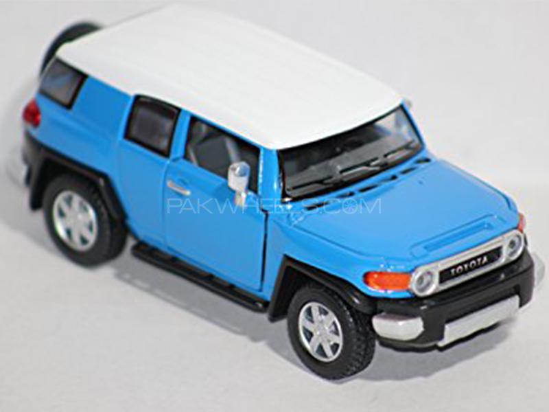 KinSmart Metal Body Die Cast Toyota FJ Cruiser - Blue in Lahore