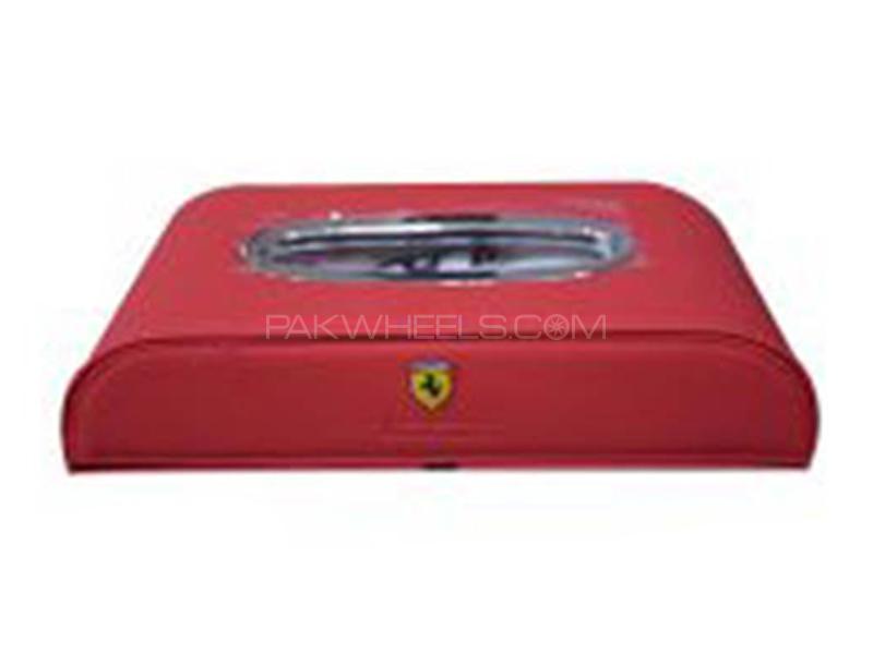 Ferrari Logo Tissue Box - Red in Karachi