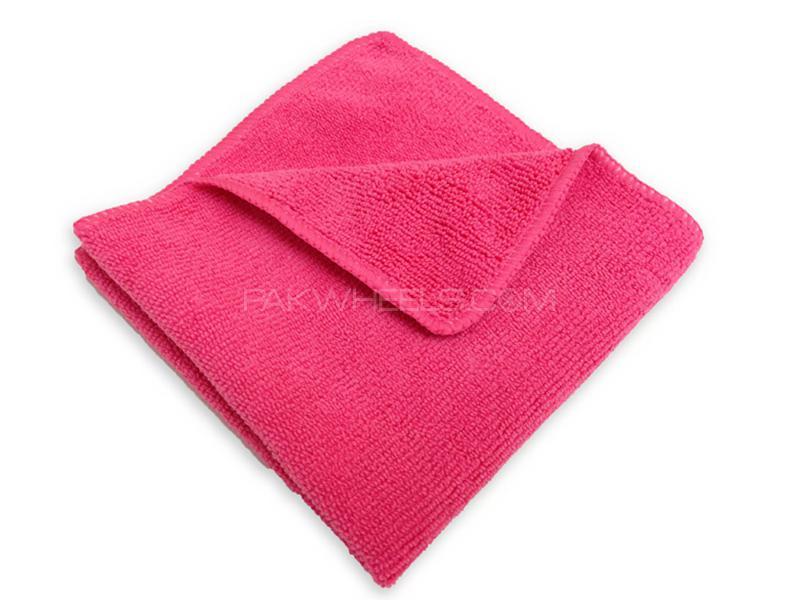 Micro Fiber Towel - Pink in Karachi