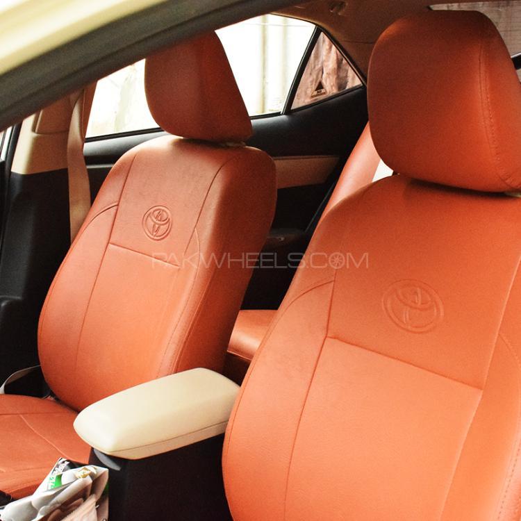d7f785656e5 ... Toyota seat Cover VIvid Orange Image-1 ...