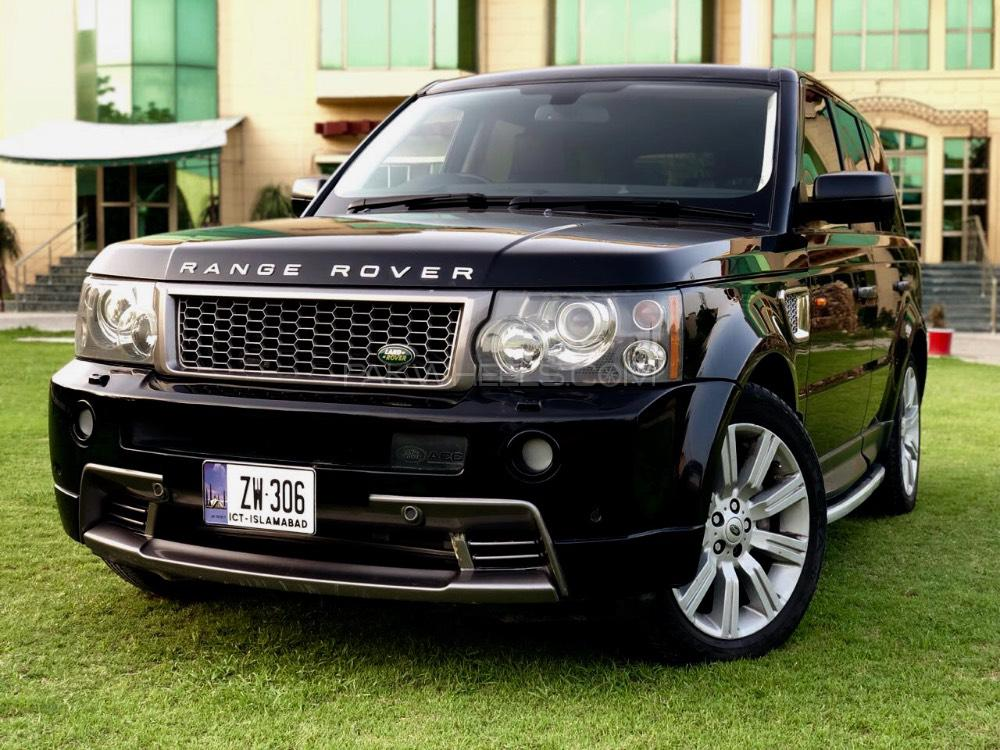 range rover sport supercharged 4 2 v8 2007 for sale in islamabad pakwheels. Black Bedroom Furniture Sets. Home Design Ideas