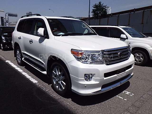 Toyota Land Cruiser ZX 2014 Image-1