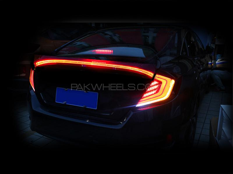 buy new led tail lights set for honda civic 2016 2018 3pcs in pakistan pakwheels. Black Bedroom Furniture Sets. Home Design Ideas