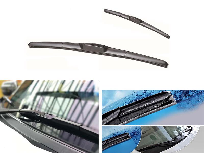 Soft Wipe Hybrid Viper Blades Set For Honda Civic - 2004-2006 Image-1