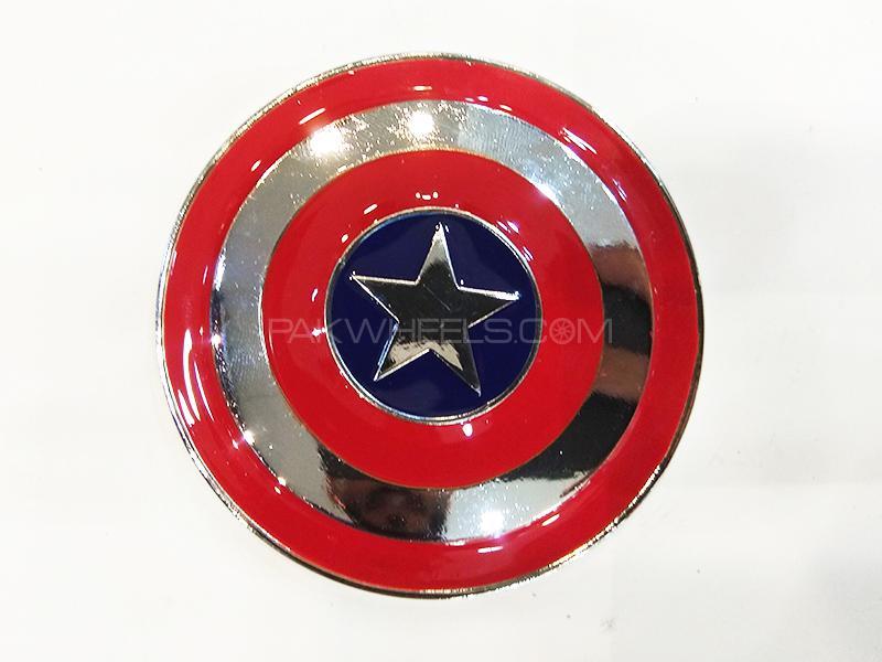 Captain America Metal Logo  Image-1
