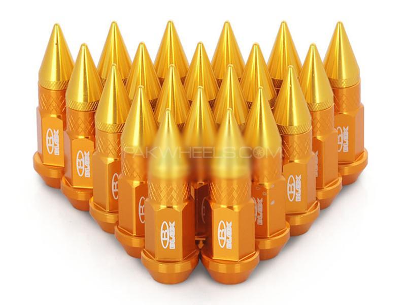 Universal Blox Lugs Nut - Golden in Karachi
