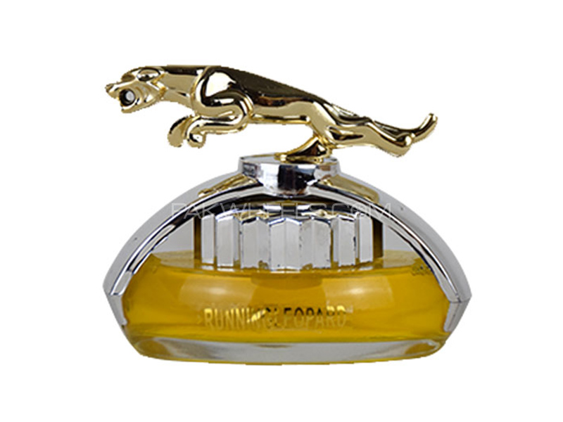 Dashboard Running Leopard Perfume - Yellow in Karachi