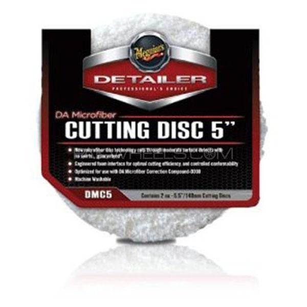 """Meguiar's Da Microfiber Cutting Disc 5"""" (2 Pack) Image-1"""