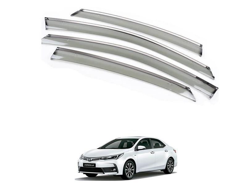 Buy Sun Visor With Chrome For Toyota Corolla 2014-2019 in Pakistan ... 08f57e24071