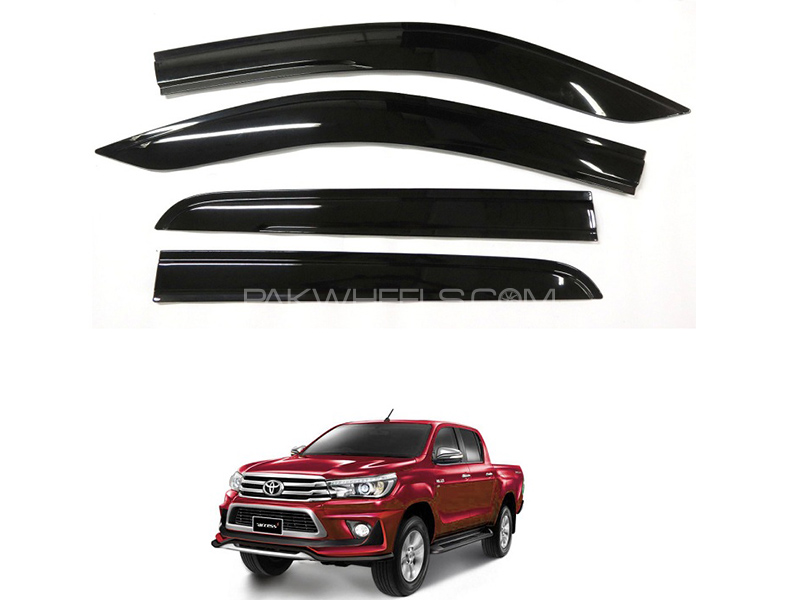 Sun Visor For Toyota Hilux Revo 2016-2018 Black  in Karachi