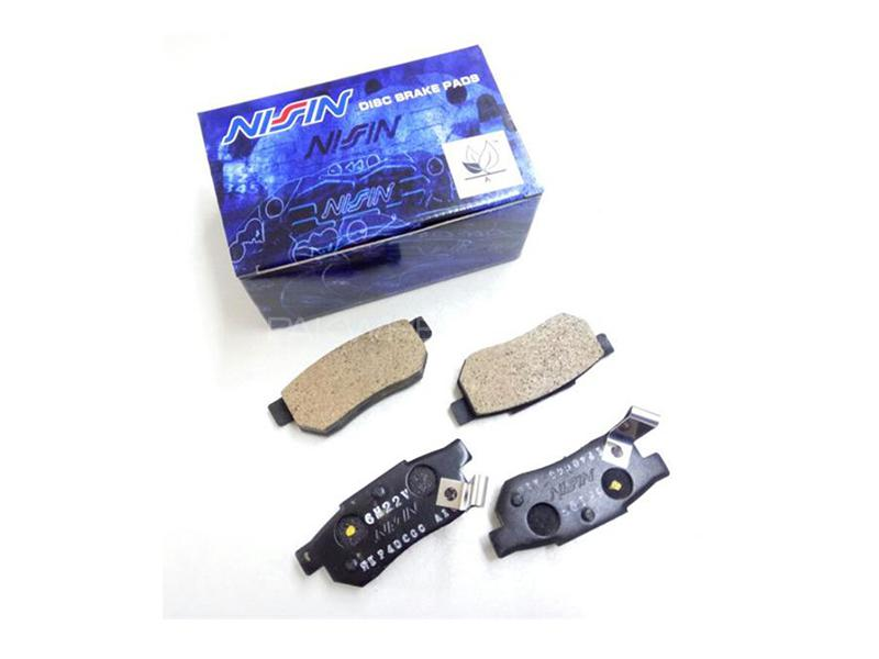 Nissin Japan Front Brake Pads For Honda Civic 2002-2004 Image-1