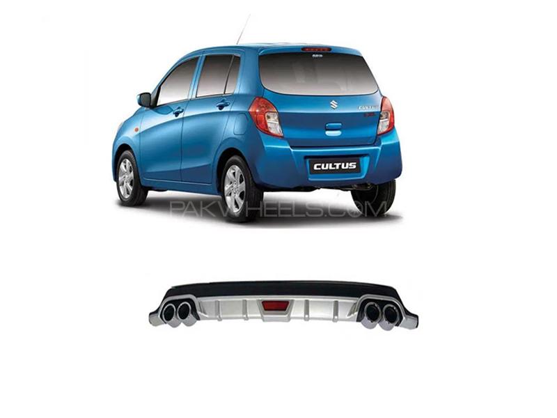 Suzuki Cultus Rear Bumper Diffuser  2017-2020 Image-1