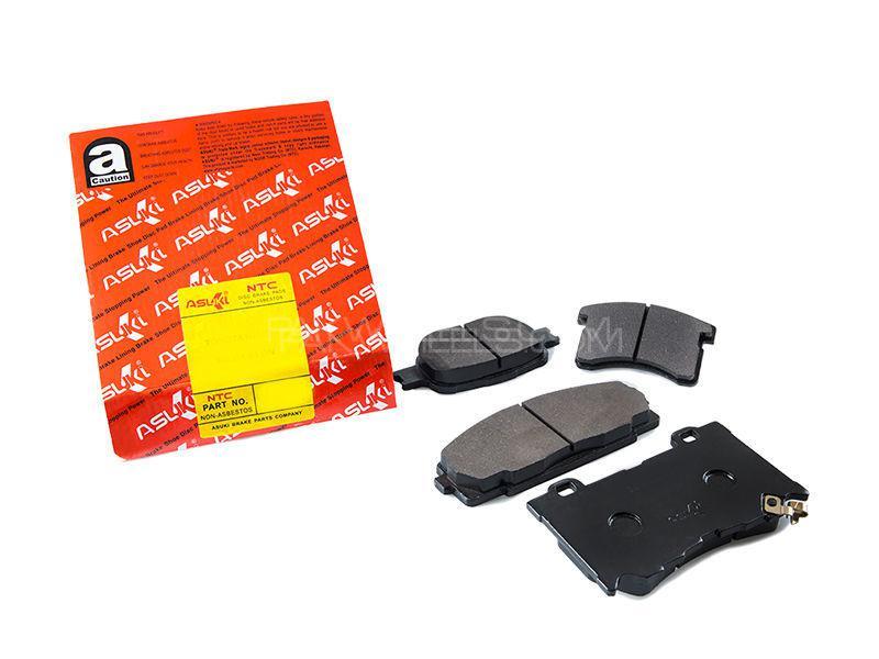 Asuki Rear Brake Pads For Honda Civic 2004-2006 Image-1