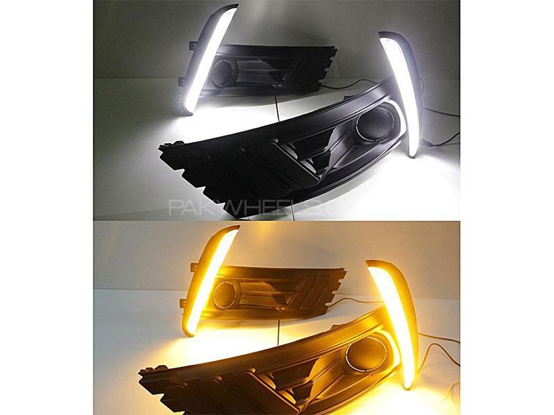 DRL Fog Lamp Cover For Toyota Corolla Facelift 2017-2018 in Karachi