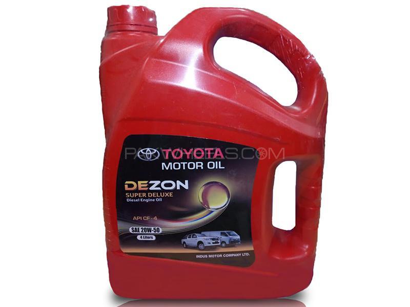Dezon Oil 20W-50 For Diesel Engine - 4 Litre  Image-1
