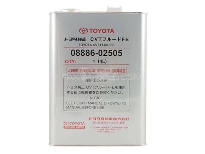 Toyota CVT Fluid FE - 4 Litre  in Karachi