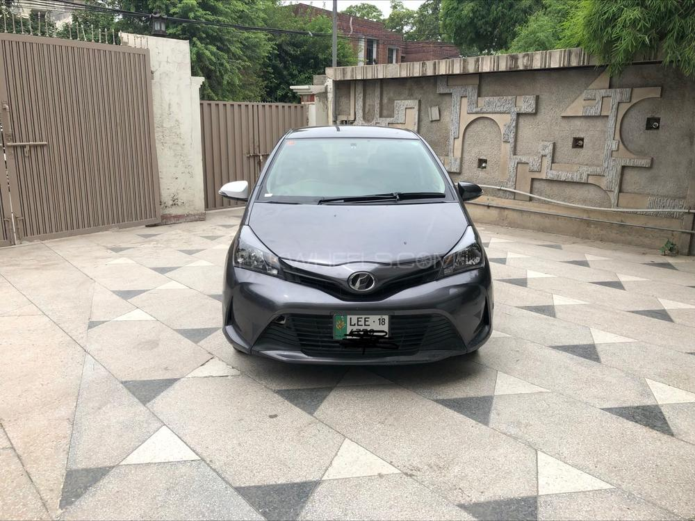 Toyota Vitz F Smile Edition 1.0 2014 Image-1