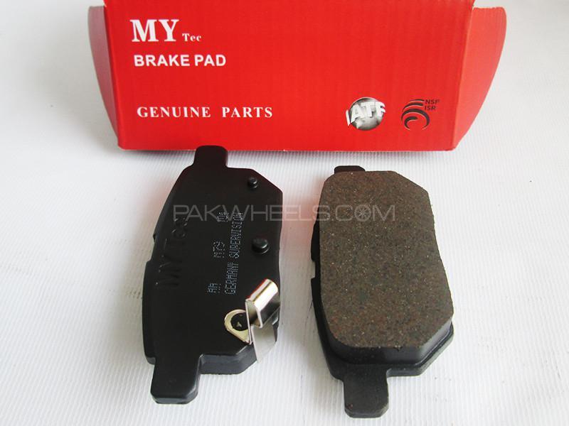 MyTec Disk Pad Honda Civic 2006-2012 Image-1
