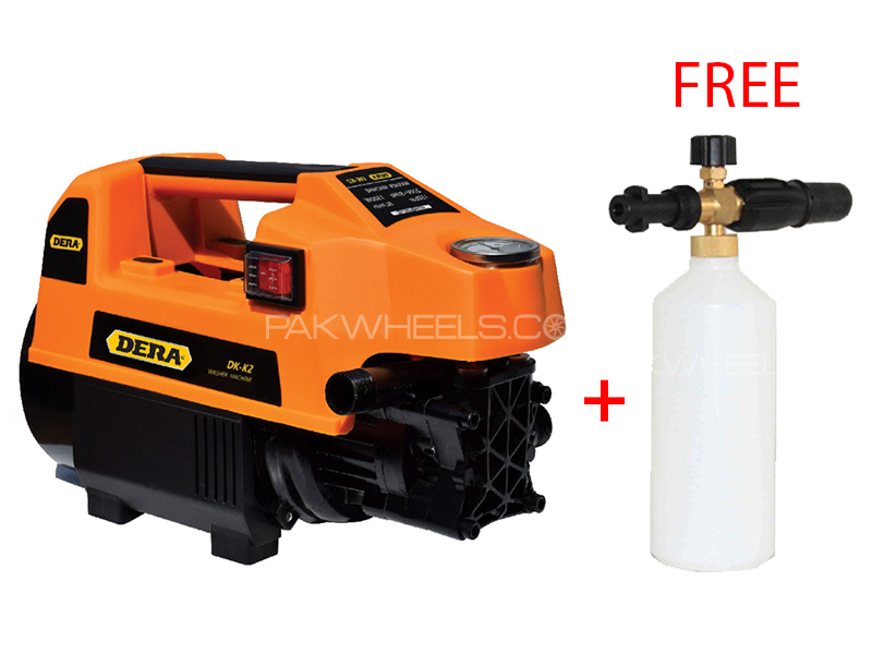 Dera DK-K2 150 Bar Washer 1500W With Free Snow Foaming Bottle in Lahore