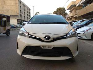 Toyota Vitz Jewela Model 2015 just arrived from Japan only 15000 km done full option with Radar  Unique white interior excellent condition just like brand new car  Excellent Condition Just Like Zero Meter