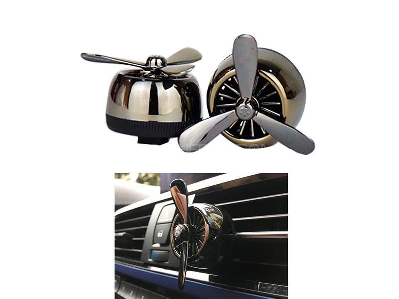 Aircraft Vent Clip Air Freshener - Black Image-1