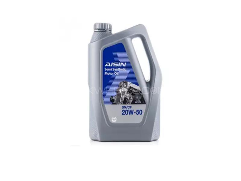 Aisin SF 20w50 Semi Synthetic Engine Oil 3L Image-1