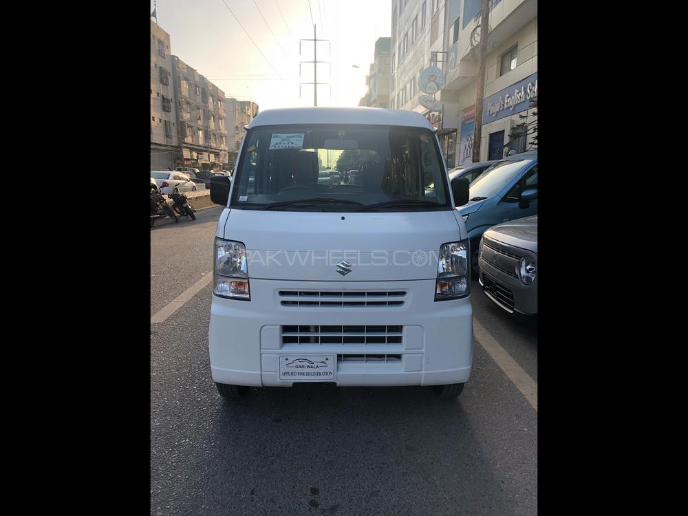 ®GARIWALA® Suzuki Every, 660C.c Super White,  PC Package, Key Start, Model 2014, Fresh import/cleared 2018, Original 3.5 Auction Grade/Sheet(Verifiable) Original 66,000 K.M, Automatic Transmission, Automatic Power Front Windows, ( 2- Power ) Air-Condition, Tinted Glass,  Original Roof Rack/Baggage Holder,  Original Foot Matts, Back Viper,