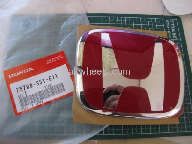 Honda H Red Emblem For Sale Image-1