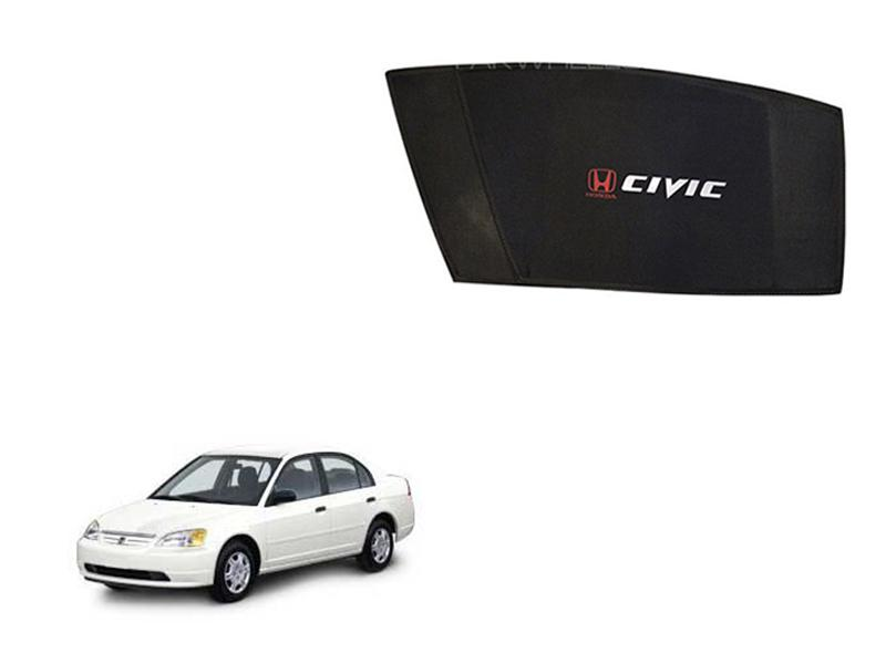 Honda Civic 2002-2004 Side Shades Image-1