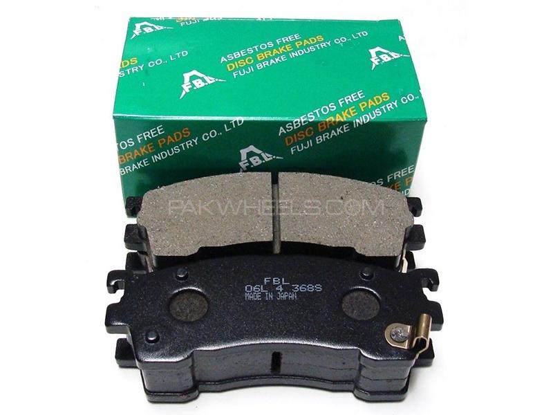 FBL Japan Front Brake Pads For Suzuki Alto VXR 2004-2009 Image-1