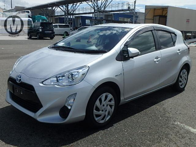 Toyota Aqua G 2015 Model 1500 cc Hybrid 66,000 km Silver Colour 4 Grade   Complete Auction Sheet Available,  Just Like A Brand New Car.   ===================================   Merchants Automobile Karachi Branch,  We Offer Cars With 100% Original Auction Report Based Cars With Money Back Guarantee.  Recommended Tips To Buy Japanese Vehicle:   1. Always Check Auction Report.  2. Verify Auction Report From Someone Else.  3. Ask For Japan Yard Pics If Possible.   MAY ALLAH CURSE LIARS.