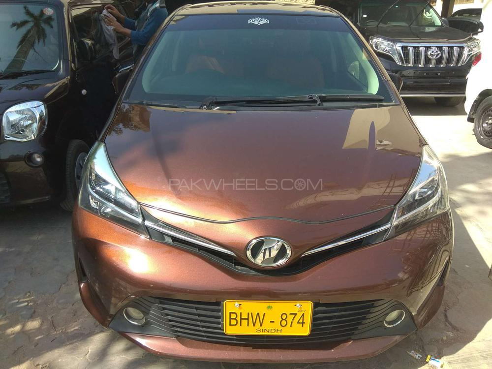 Toyota Vitz Jewela 1 0 2014 For Sale In Karachi Pakwheels