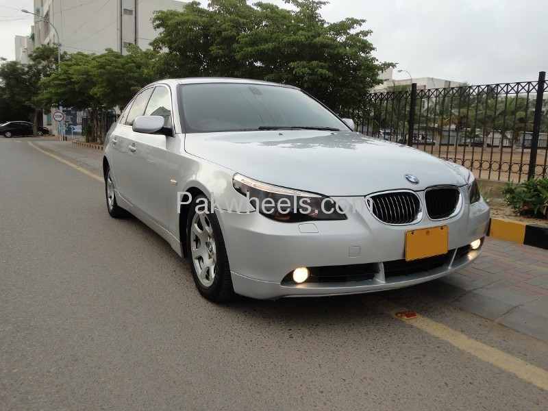 bmw 5 series 525d 2004 for sale in karachi pakwheels. Black Bedroom Furniture Sets. Home Design Ideas