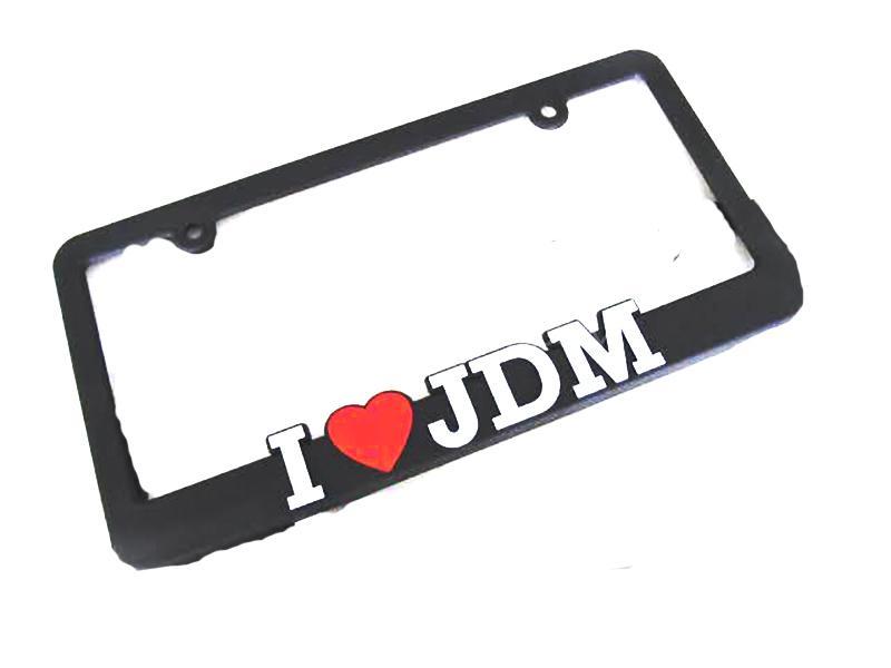 Universal JDM License Plate Frame - 1 Pcs Image-1