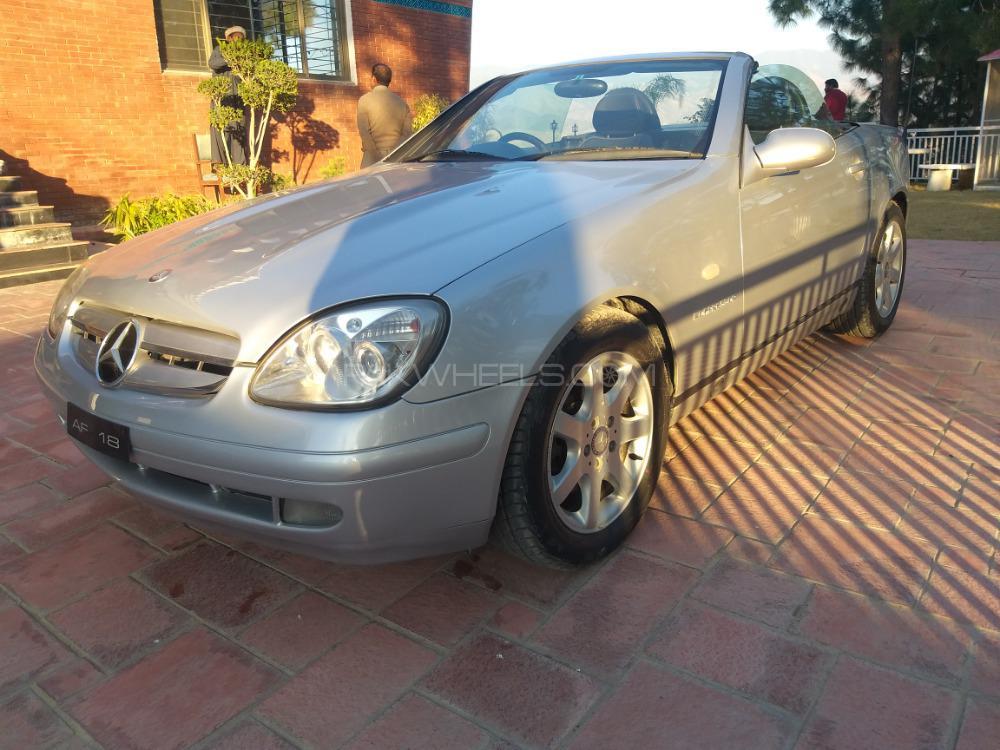 Mercedes Benz Slk Class Slk230 Kompressor 2002 For Sale In Abottabad
