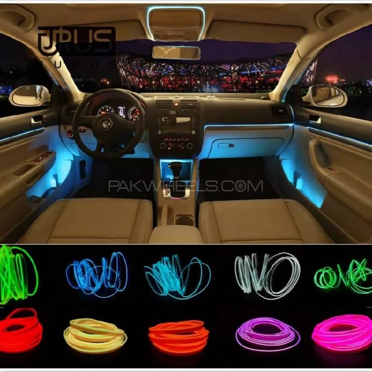 Interior Decor Electro Luminous Lights for Cars Image-1