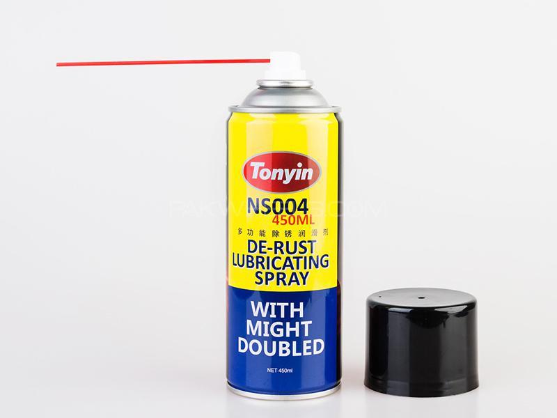 Tonyin De-Rust Lubricating Spray 450ml in Lahore
