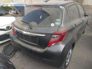 TOYOTA VITZ MODEL 2015 PAKAGE F 1.0 MILAGE 57000 COLOR GREY BUMPER TO BUMPER ORIGINAL AUCTION SHEET AVAILABLE