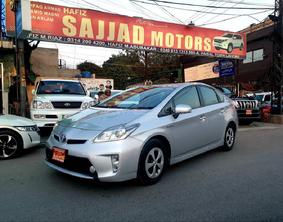 Toyota Prius S LED Edition 1.8 2015 Image-1
