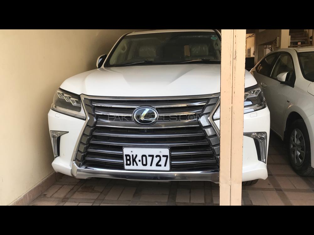 Lexus LX 570 2016 Pearl white  Everything is in genuine condition. Just like a Zero Meter car. Price is flexible. Brand new tires installed. All token taxes are paid to date.