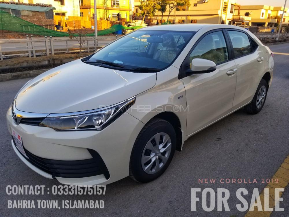 Toyota Corolla Xli Vvti 2019 For Sale In Rawalpindi Pakwheels