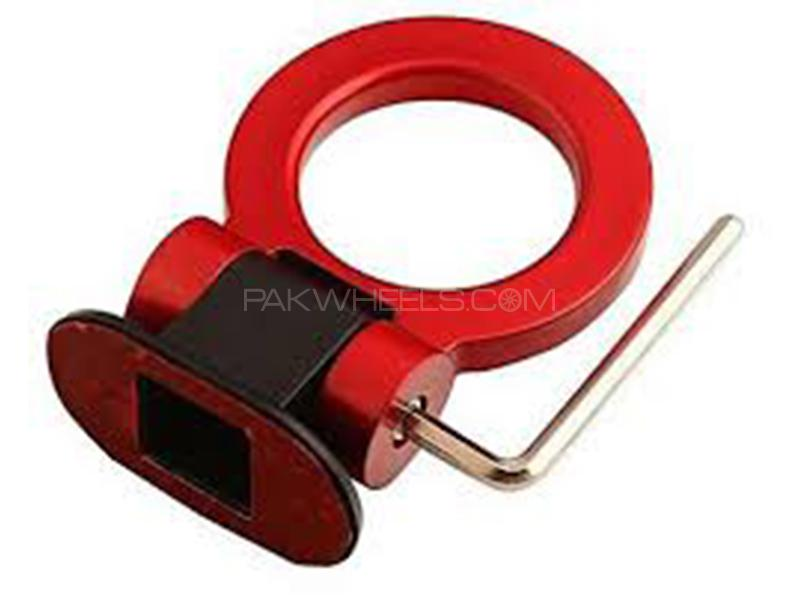 Universal ABS Tow Hook - Red in Karachi
