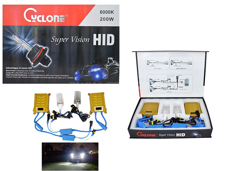 HID -Cyclone 200 W H11 Image-1