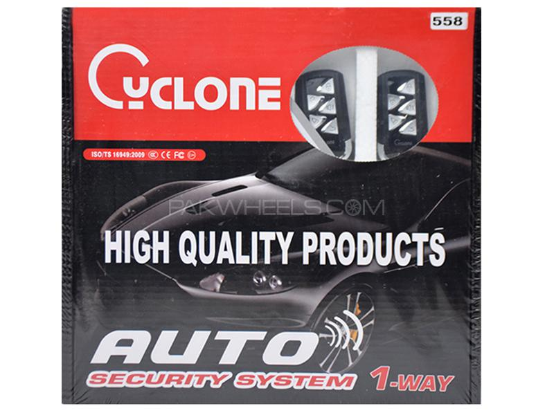 Cyclone Auto Security System - 558 Image-1