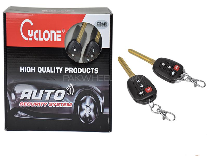 Cyclone Auto Security System - 586 DK-204 Image-1