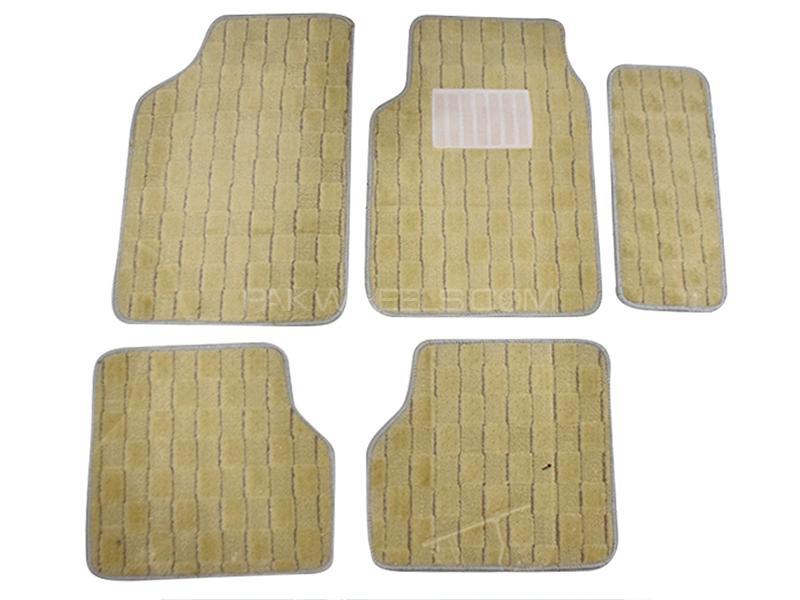 Carpet Floor Mats For Toyota Corolla 2002-2008 - Beige  Image-1